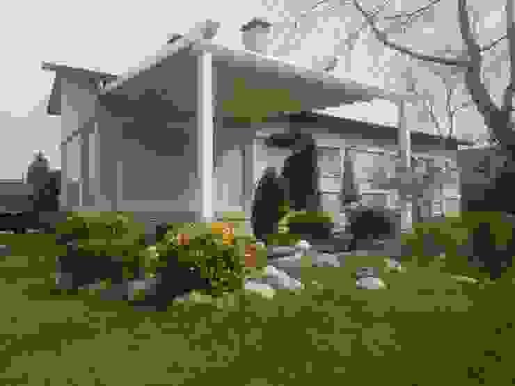 PERGOLA A.Ş. Modern garden Aluminium/Zinc White