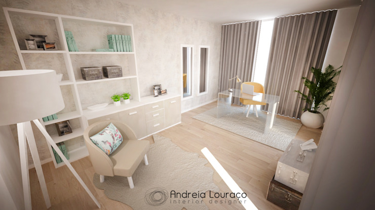 Andreia Louraço - Designer de Interiores (Email: andreialouraco@gmail.com) Modern style study/office