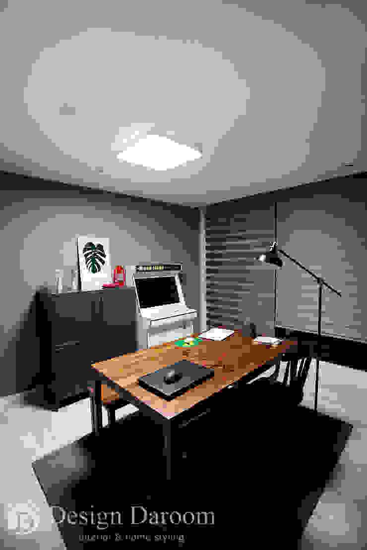 수유 두산위브 아파트 34py 서재 모던스타일 서재 / 사무실 by Design Daroom 디자인다룸 모던