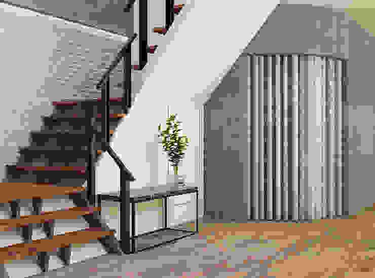 樓梯間 Asian style commercial spaces by 城藝室內裝修企業有限公司 Asian