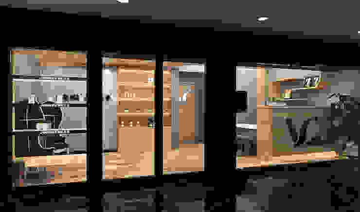 往內空間 Asian style commercial spaces by 城藝室內裝修企業有限公司 Asian