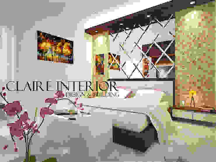 Master Bedroom Kamar Tidur Modern Oleh Claire Interior Design & Building Modern Kayu Wood effect