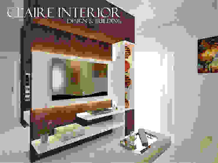 Master Bedroom Kamar Tidur Minimalis Oleh Claire Interior Design & Building Minimalis Kayu Wood effect