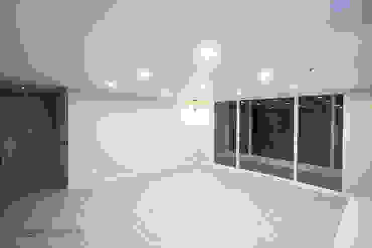 동탄 아파트 인테리어 모던스타일 거실 by N디자인 인테리어 모던