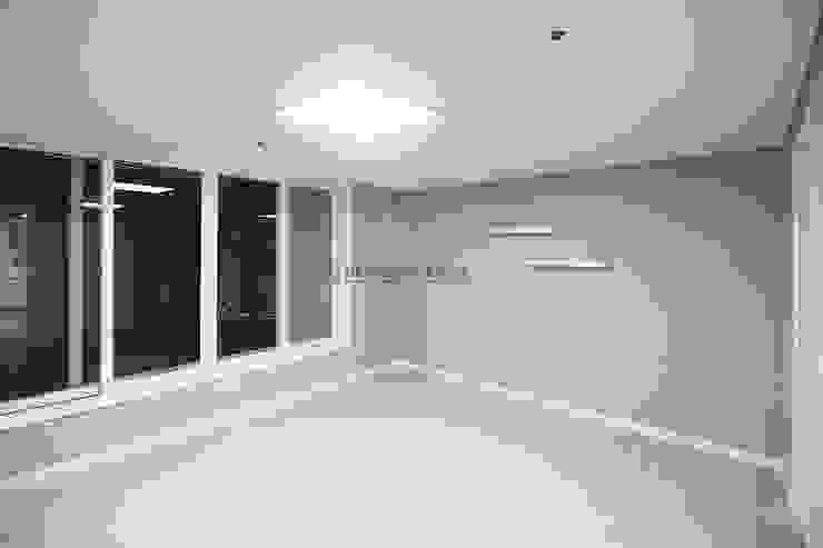 동탄 아파트 인테리어 모던스타일 미디어 룸 by N디자인 인테리어 모던
