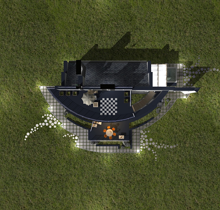 Spa modernos de архитектурная мастерская МАРТ Moderno