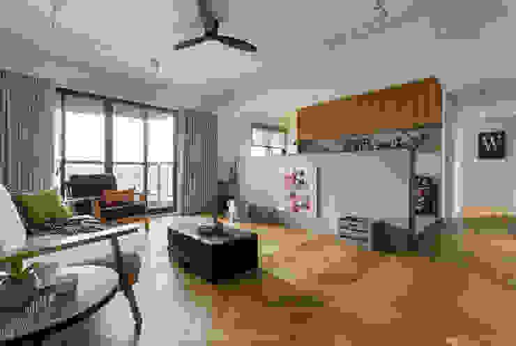 客廳 根據 邑田空間設計 北歐風