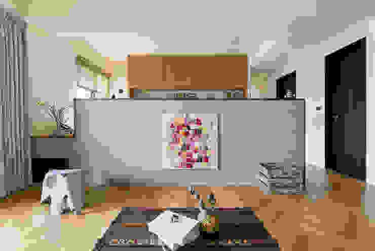 客廳 根據 邑田空間設計 北歐風 水泥