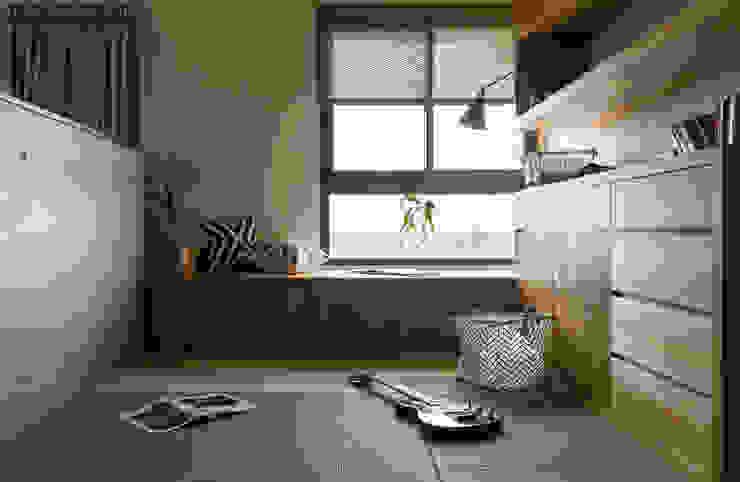 書房 根據 邑田空間設計 日式風、東方風