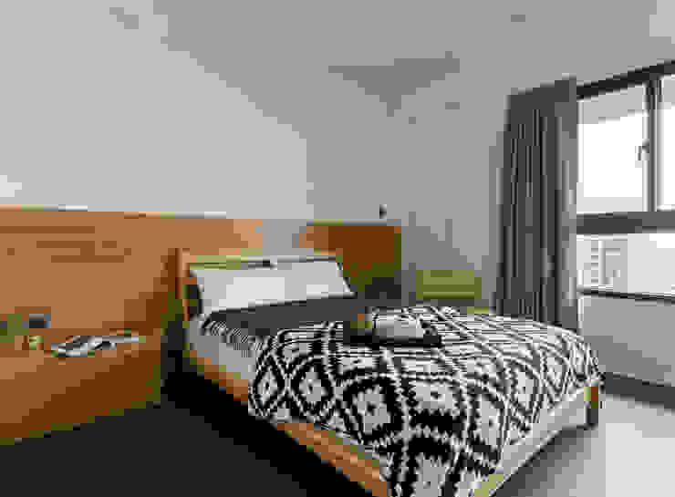 主臥室 根據 邑田空間設計 北歐風