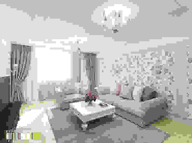 Salas de estilo clásico de Мастерская интерьера Юлии Шевелевой Clásico