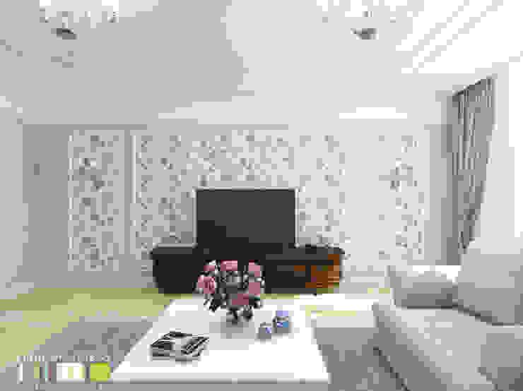 Мастерская интерьера Юлии Шевелевой Salones clásicos