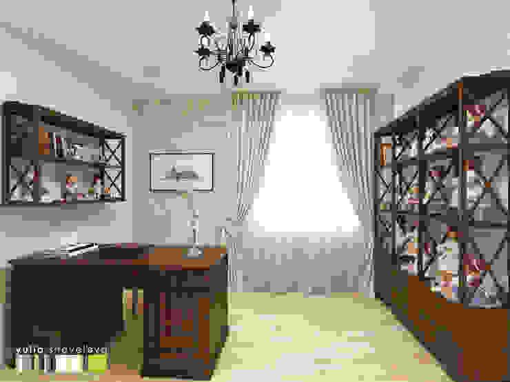 Мастерская интерьера Юлии Шевелевой Estudios y oficinas clásicos