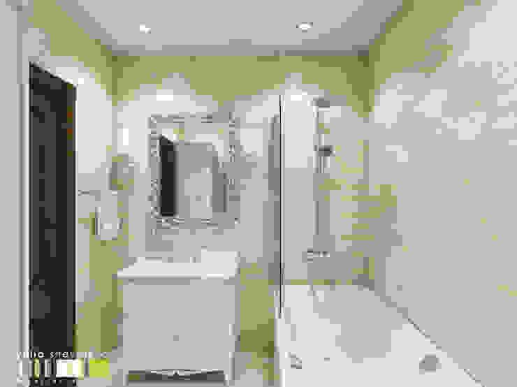 Salle de bain classique par Мастерская интерьера Юлии Шевелевой Classique