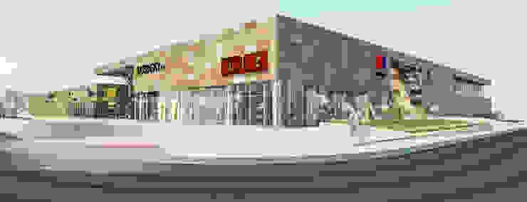 Camara 7 - Visuales de geometria Centros comerciales modernos de DUSINSKY S.A. Moderno