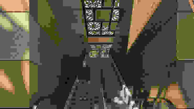 Camara 8 - Interior (acceso a patio de comidas) Centros comerciales modernos de DUSINSKY S.A. Moderno