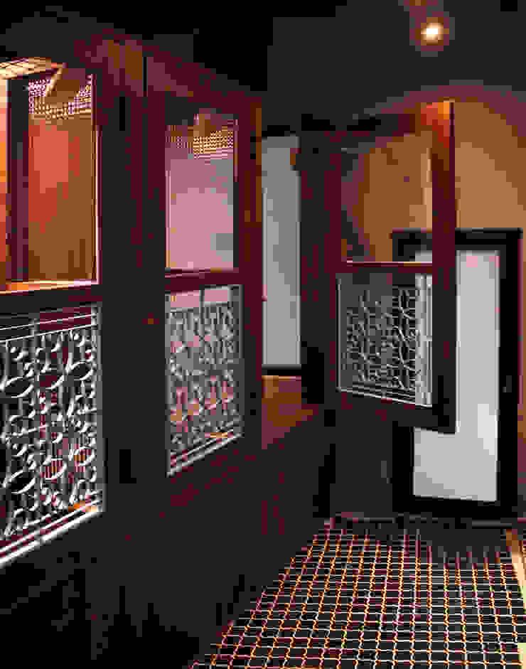 貓旅館區域: 亞洲  by 湜湜空間設計, 日式風、東方風 木頭 Wood effect