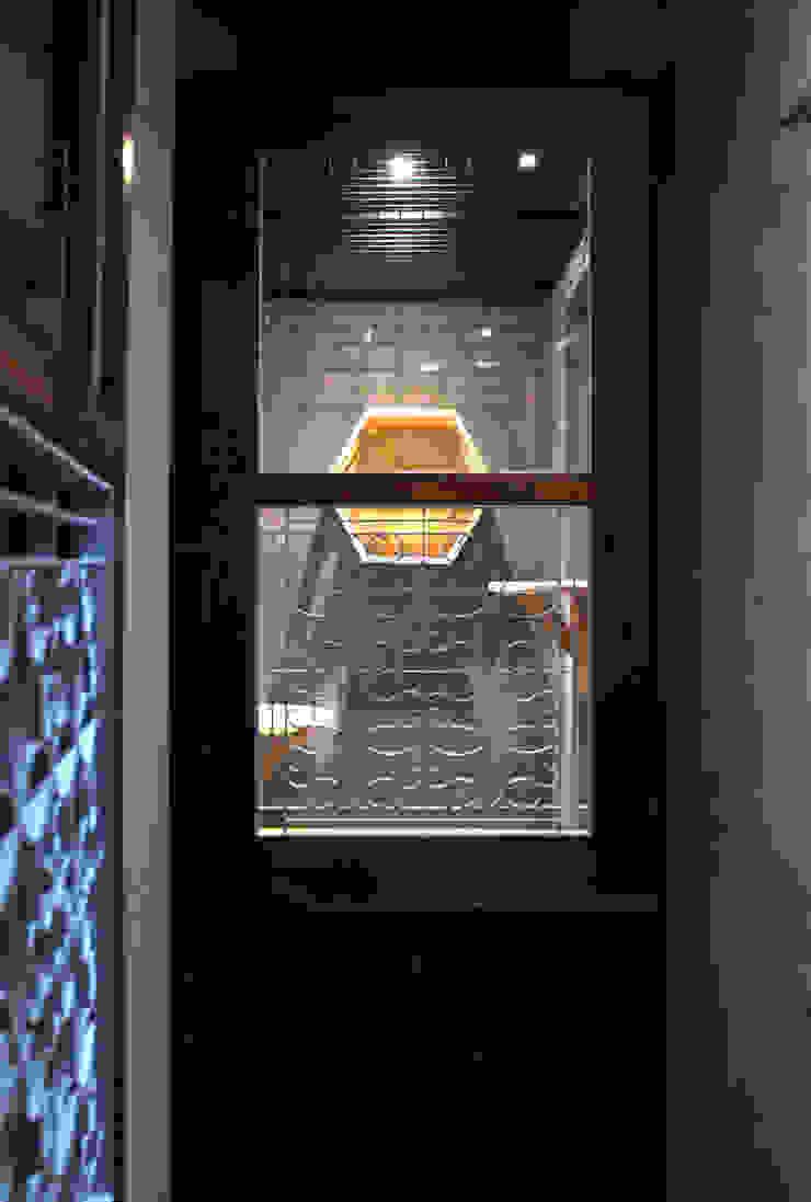 貓旅館區域-隔間: 亞洲  by 湜湜空間設計, 日式風、東方風 木頭 Wood effect