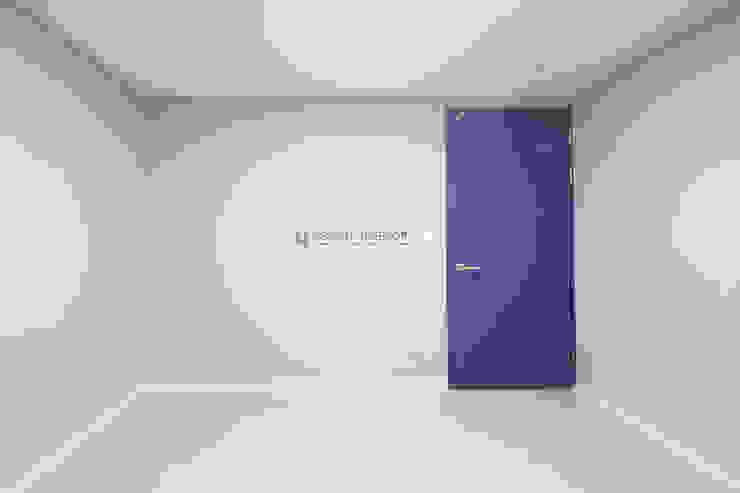 동탄2 금강펜테리움 모던스타일 미디어 룸 by N디자인 인테리어 모던