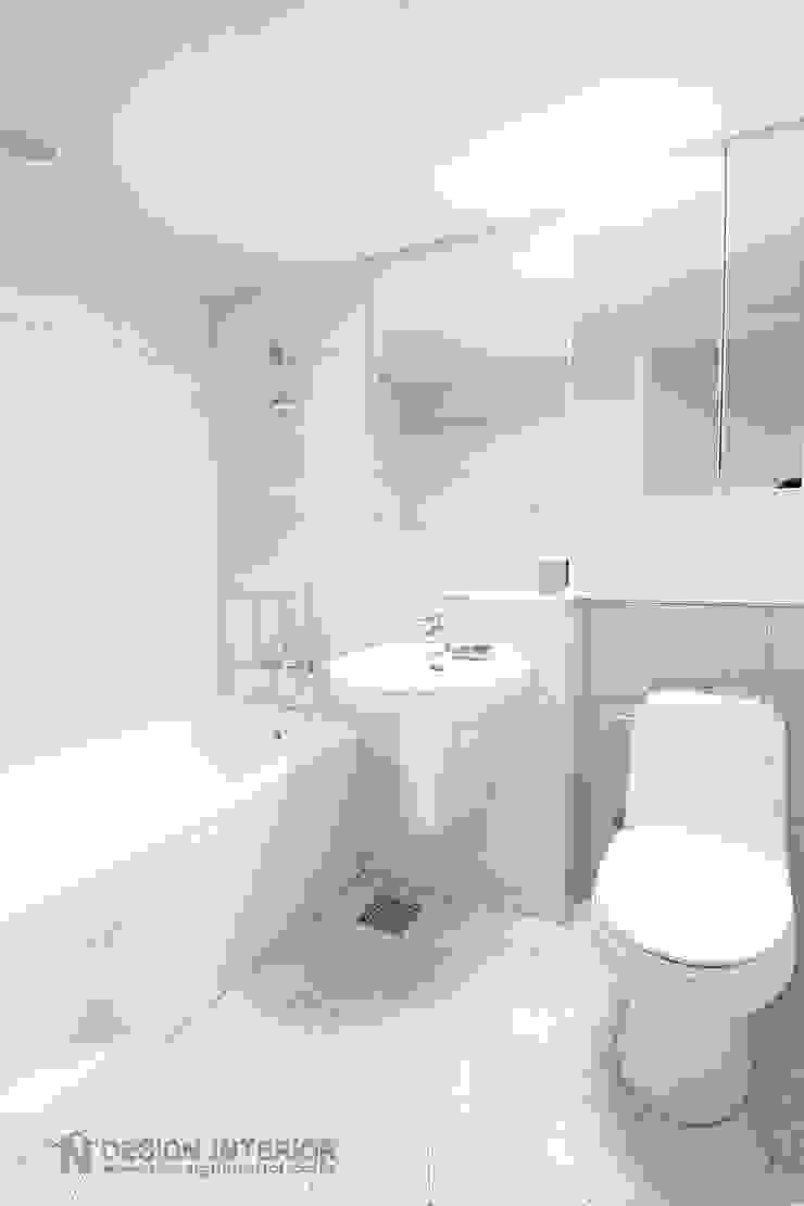 동탄2 금강펜테리움 모던스타일 욕실 by N디자인 인테리어 모던