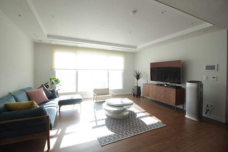 N디자인 인테리어 Scandinavian style living room