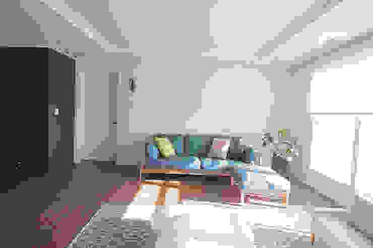 동탄2 예미지 아파트인테리어 스칸디나비아 거실 by N디자인 인테리어 북유럽