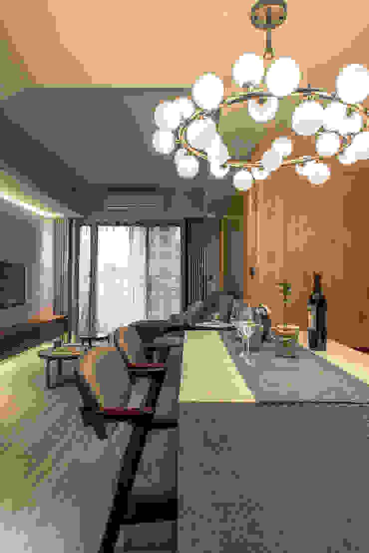 Dining / living area 根據 湜湜空間設計 隨意取材風