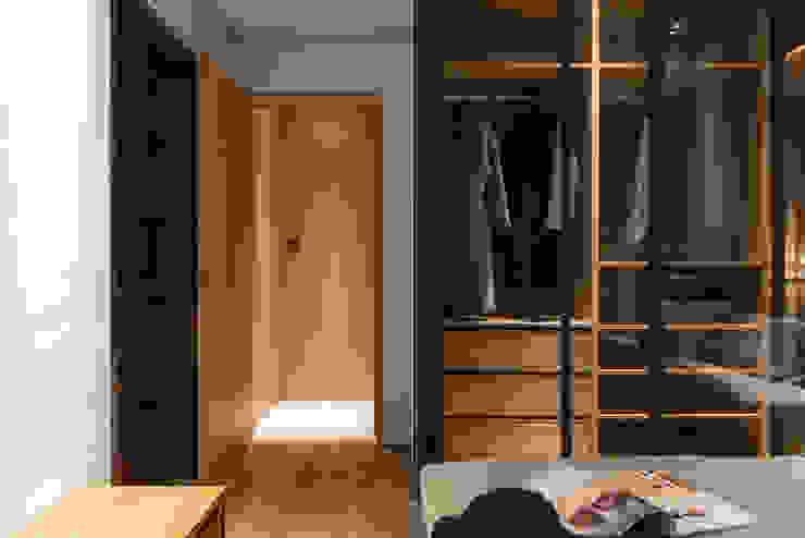 Bedroom 根據 湜湜空間設計 隨意取材風