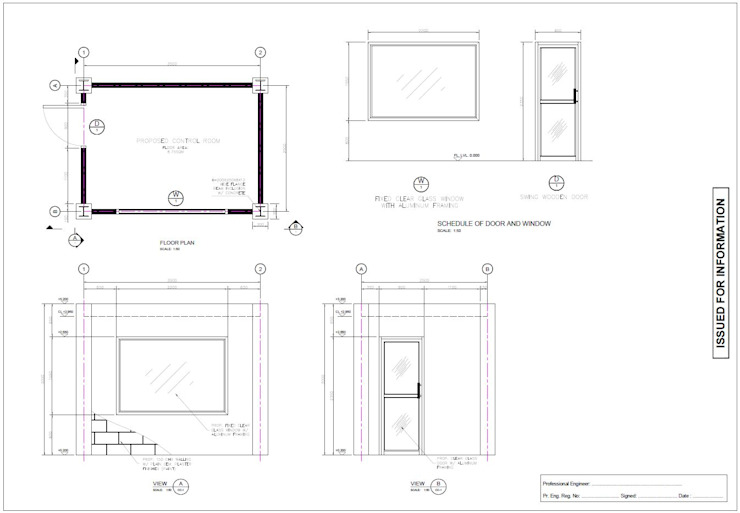 Architectural layout by freelance