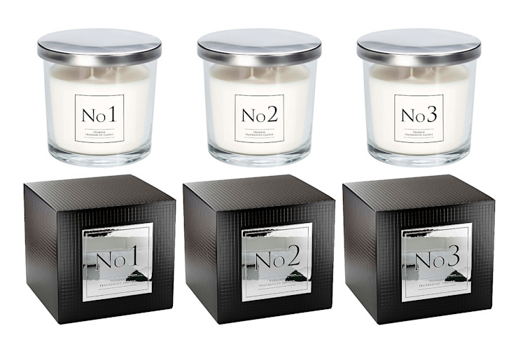 Two Wick Scented Candles von The London Candle Company Klassisch