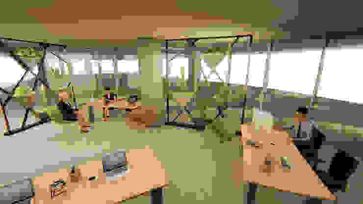 Pil Tasarım Mimarlik + Peyzaj Mimarligi + Ic Mimarlik Tropical style study/office
