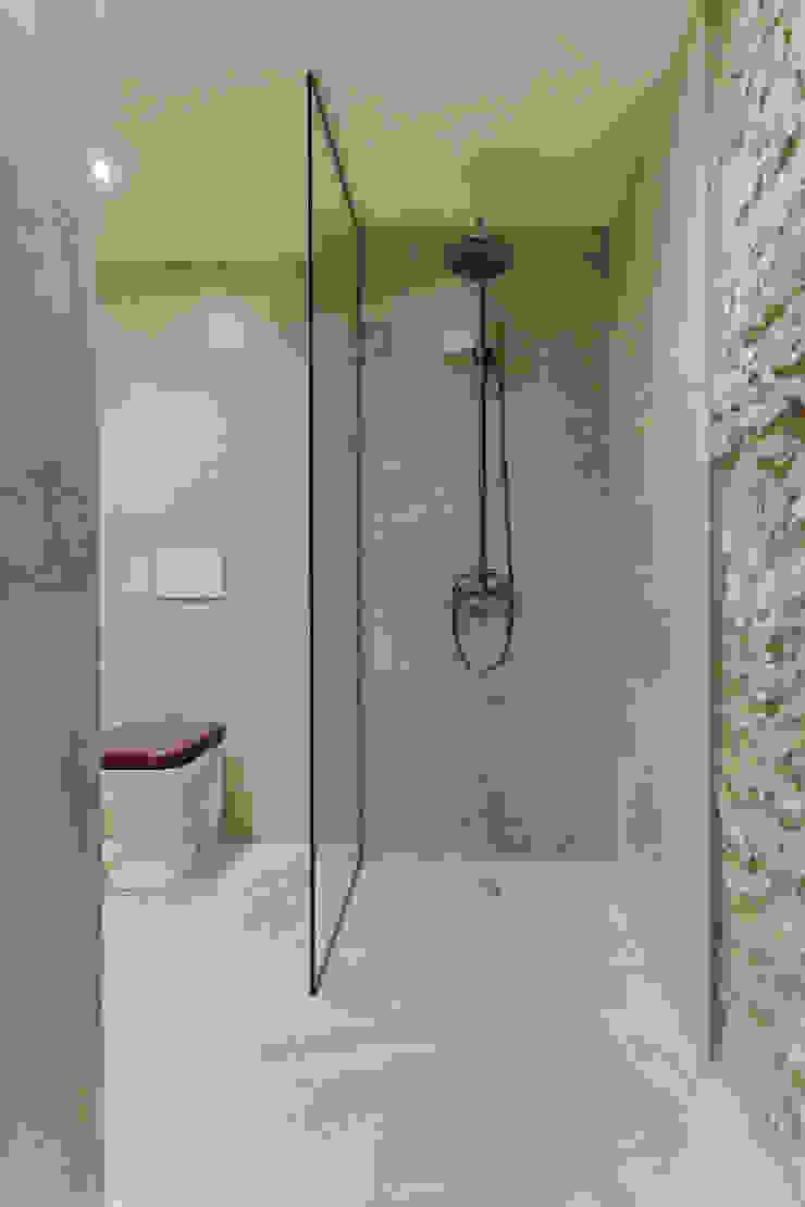 Baños de estilo rústico de Lara Pujol | Interiorismo & Proyectos de diseño Rústico