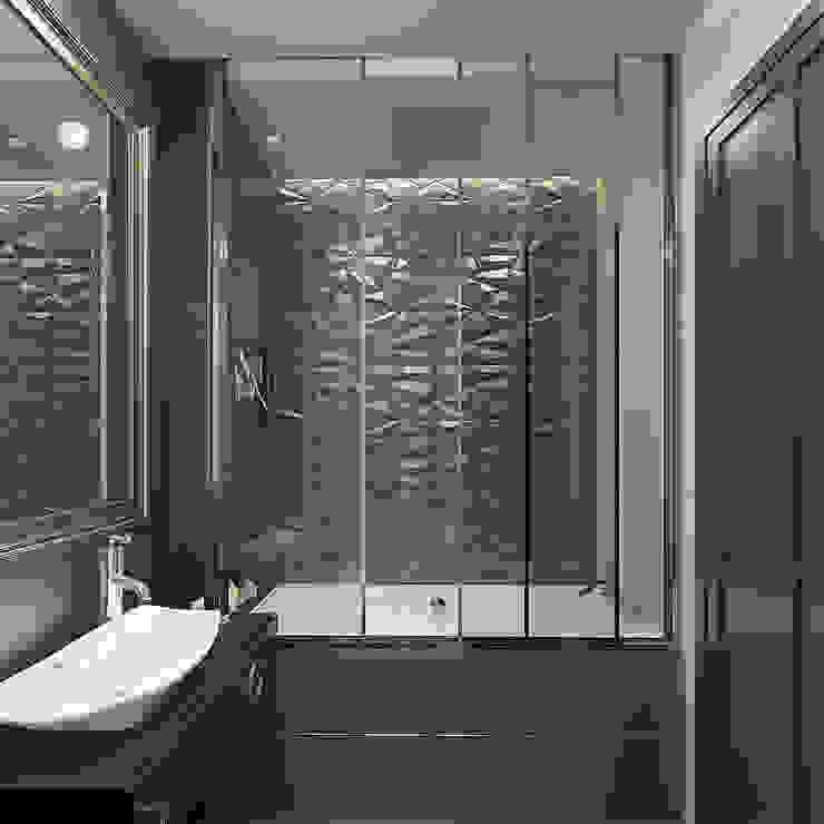 Дизайн-проект квартиры в стиле неоклассика Ванная в классическом стиле от design4y Классический