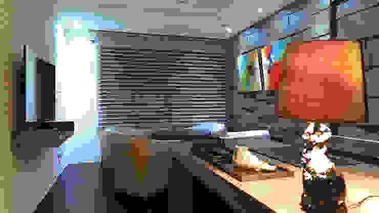 邑田空間設計 Oficinas de estilo moderno