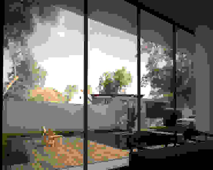 庭園景觀餐廳 根據 勻境設計 Unispace Designs 現代風