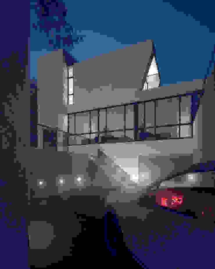 會所夜景 根據 勻境設計 Unispace Designs 現代風