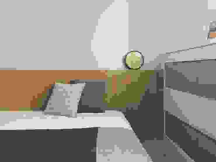 雙橡園Y宅 根據 Ho.space design 和薪室內裝修設計有限公司 現代風