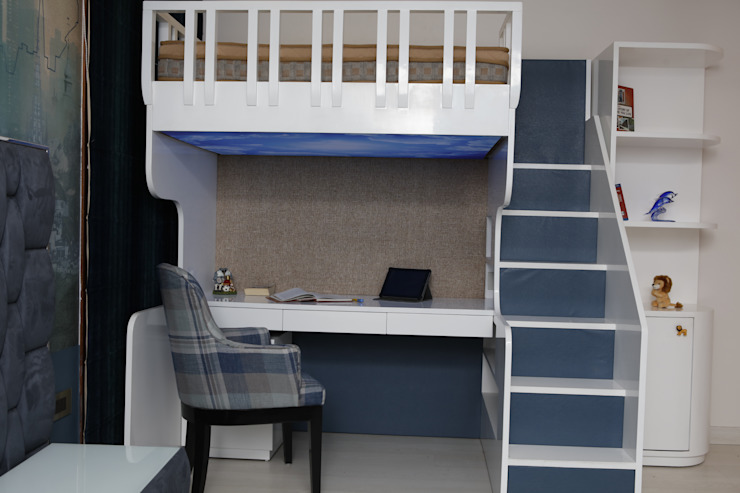 Bunk Bed QBOID DESIGN HOUSE BedroomBeds & headboards
