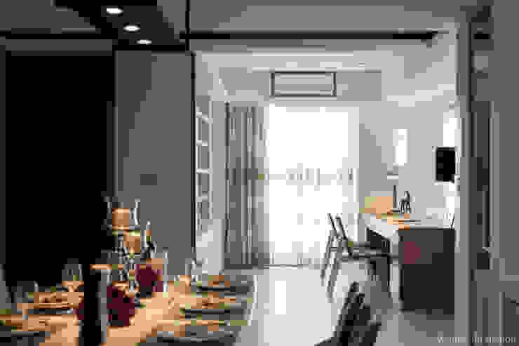 明水苑 | 稜線 (住宅設計案2015) 根據 北歐制作室內設計 北歐風
