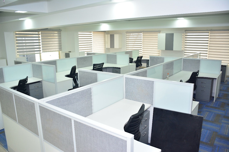 Commercial project QBOID DESIGN HOUSE Modern office buildings