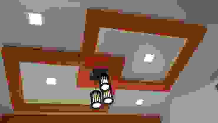 Mr. Udaybhan Singh Thakur Retirement Home Minimalist dining room by al-Haadi Interiors Minimalist