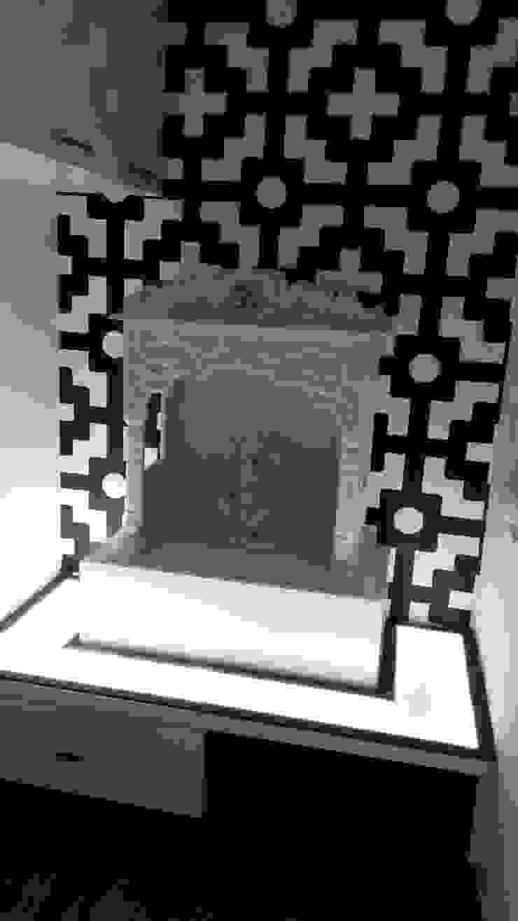Mr. Udaybhan Singh Thakur Retirement Home Minimalist kitchen by al-Haadi Interiors Minimalist