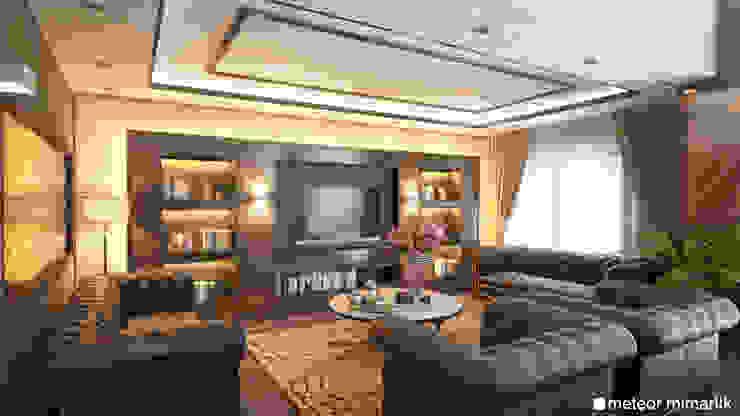 Meteor Mimarlık & Tasarım Living room