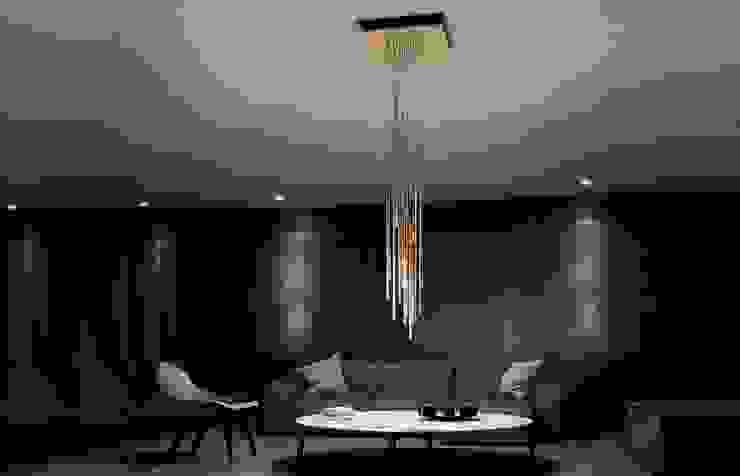 Lungo 21 Luces: Salas de estilo  por BIROT A Lighting Store