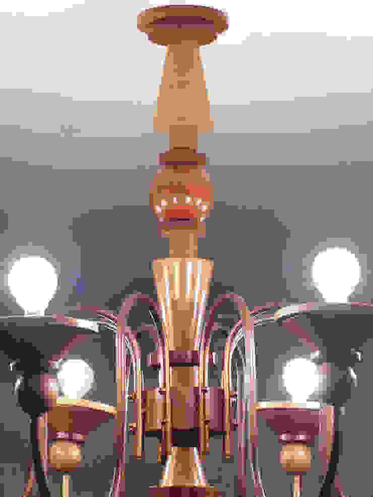 industrial  by Fernando Borda Arquitectura de Interiores, Industrial Solid Wood Multicolored