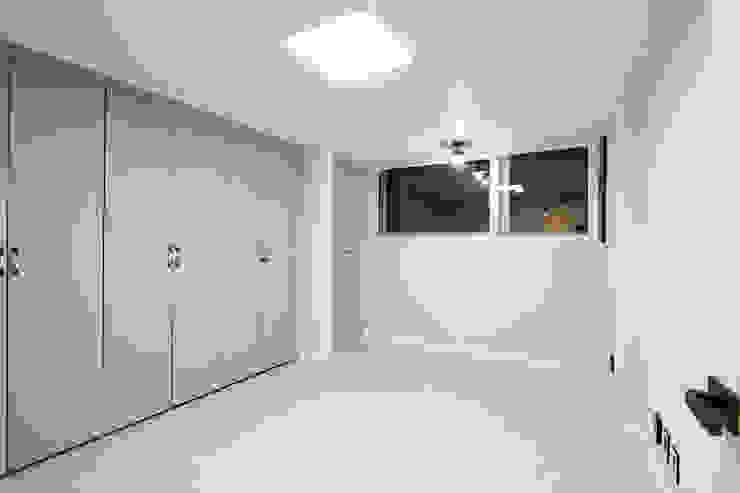 한 인테리어 청솔아파트 모던스타일 미디어 룸 by 한 인테리어 디자인 모던