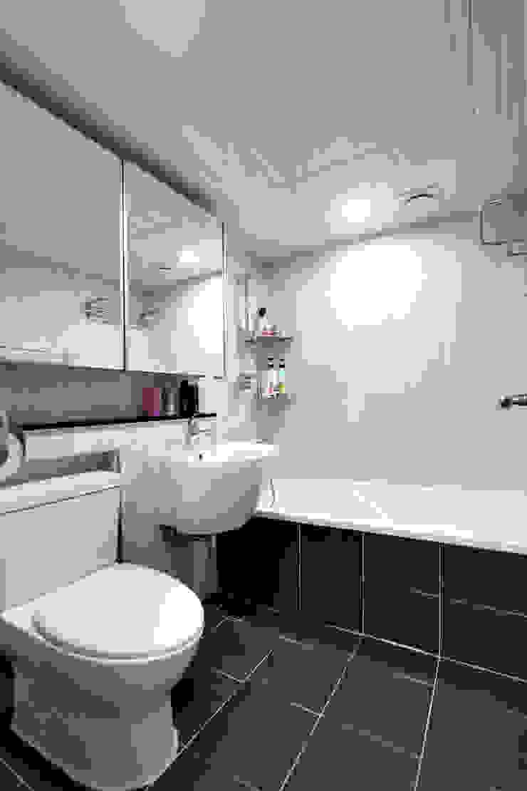 한 인테리어 청솔아파트 모던스타일 욕실 by 한 인테리어 디자인 모던