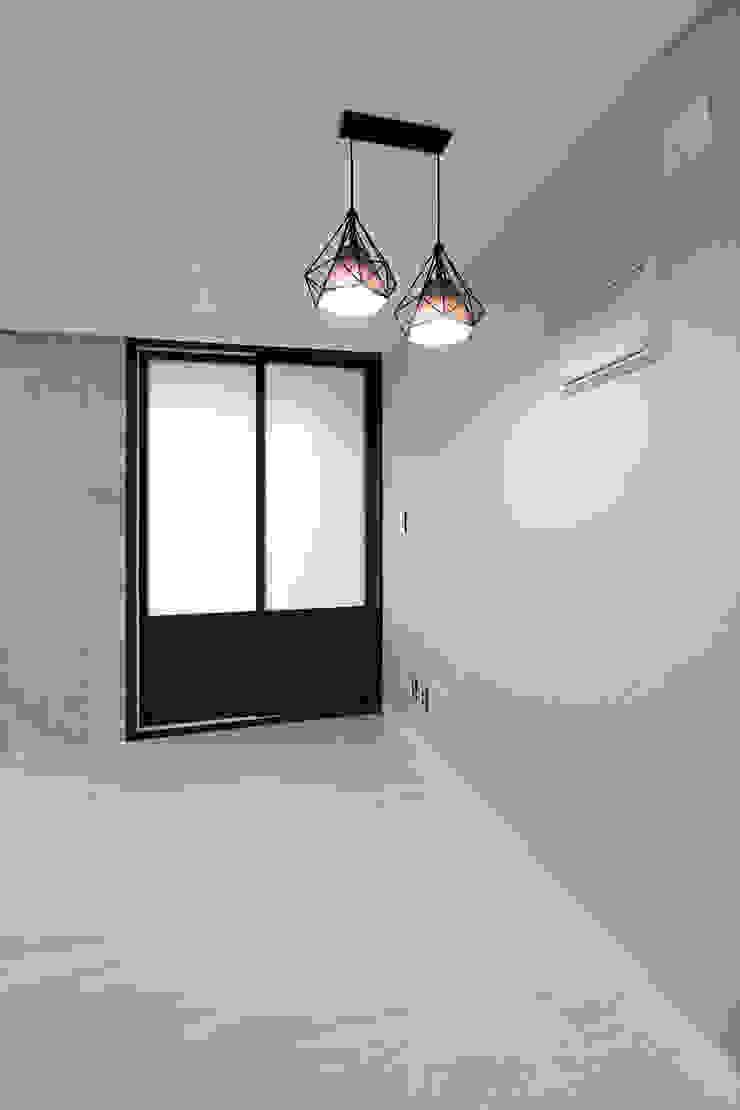 한 인테리어 현대3차 주공아파트 모던스타일 미디어 룸 by 한 인테리어 디자인 모던