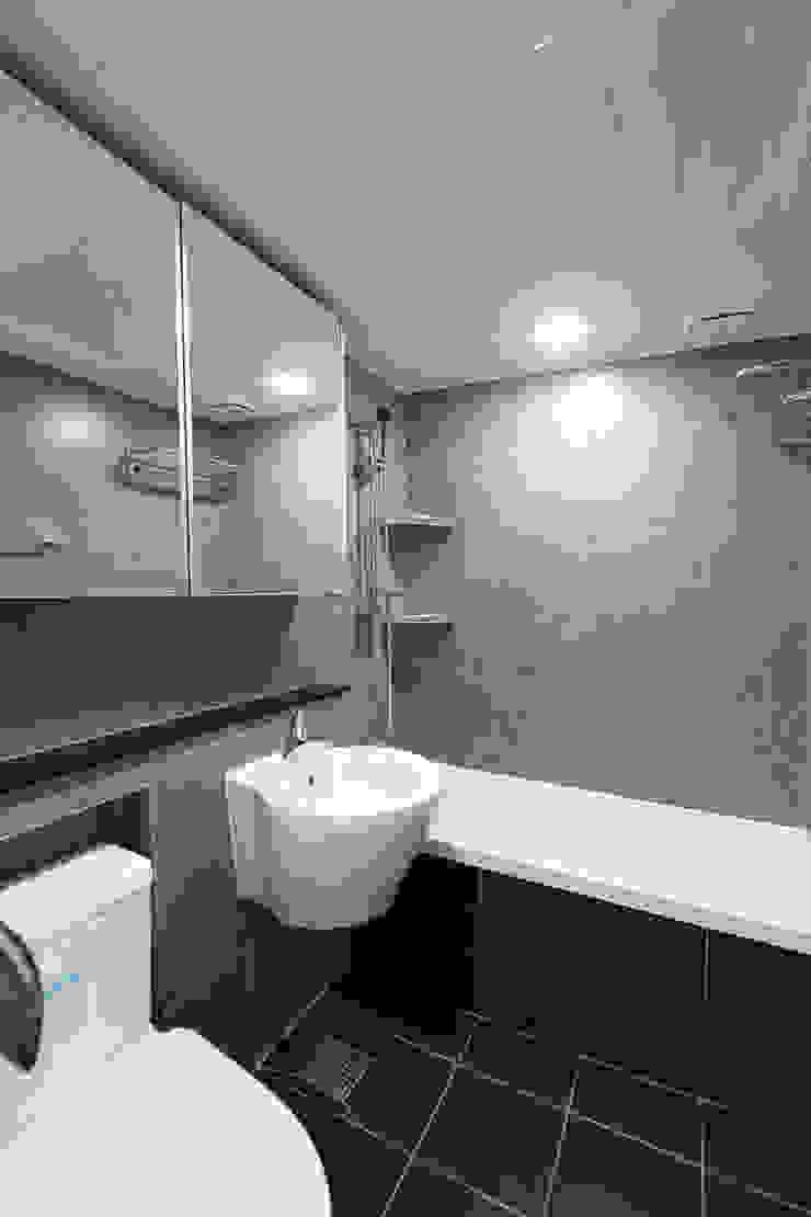 한 인테리어 현대3차 주공아파트 모던스타일 욕실 by 한 인테리어 디자인 모던