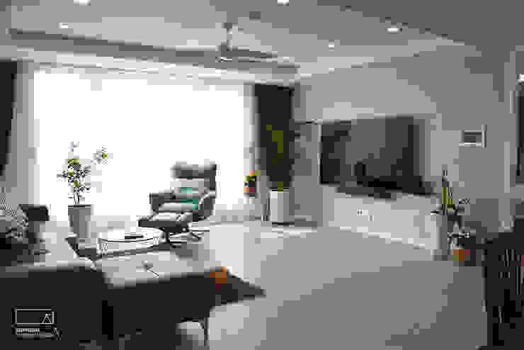 Phòng ngủ phong cách hiện đại bởi 리인홈인테리어디자인스튜디오 Hiện đại